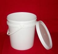 广口塑料提桶